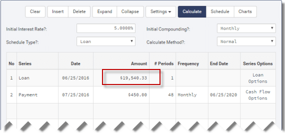 mortgage amount calculated