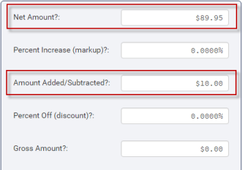 markup discount calculator percent change calculator