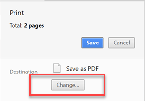 Save amortization to PDF
